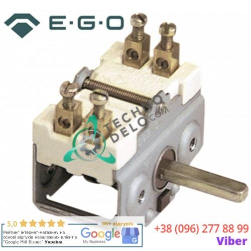 Переключатель EGO 49.21015.724 2NO для Tecnoinox, Ambach, Bertos, RM-Gastro и др.
