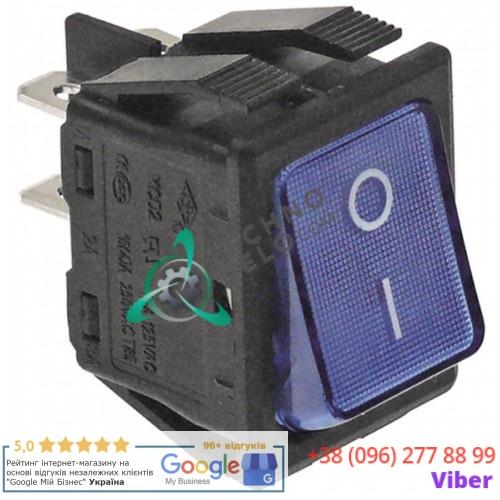 Балансирный переключатель 2NO (250В 16А - 0-I) для оборудования Desmon, Panicoupe и др.