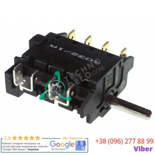 Пакетный переключатель 16A 250V max 150°C 3 позиции Smeg 811730166