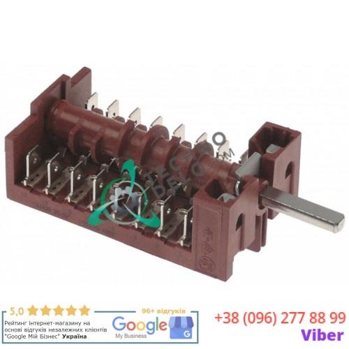 Пакетный переключатель 004268 16А для плиты электрической Zanussi/Electrolux