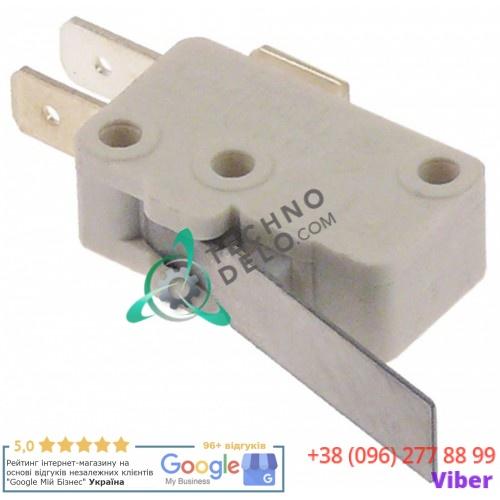 Микровключатель с рычагом 250В 16А для оборудования Elframo, Komel, MBM-Italien и др.
