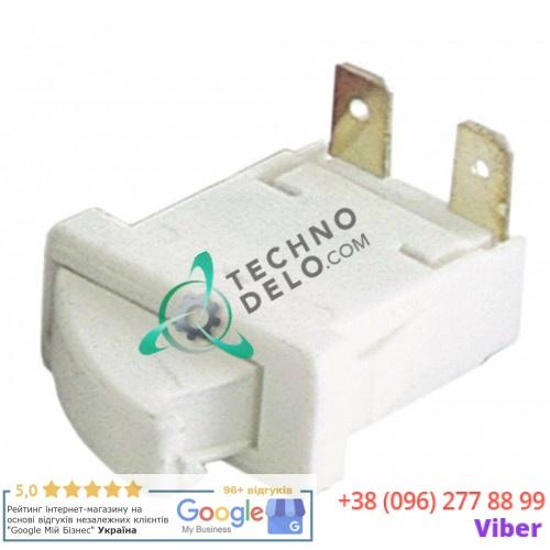 Микровыключатель кнопочный 1NO 250В 0,25А 26x12мм 084403 020270 для Electrolux, Zanussi, Mondial Elite и др.