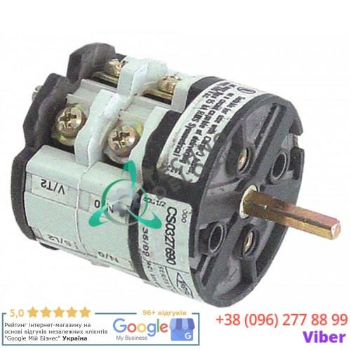 Выключатель Bremas CS0327690 0-1 600В 32A ось 5x5мм 0108008 для Lincar, Offcar, Silko