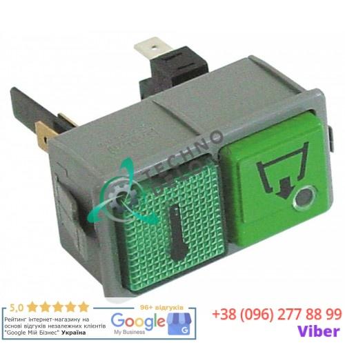 Кнопка двойная спуск/температура 1NO 250В DW15899/C для Dihr, Kromo и др.