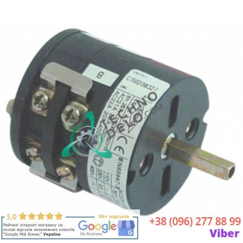 Переключатель поворотный Bremas 25A A2000 3 положения 7633301 для Bezzera B2000 и др.