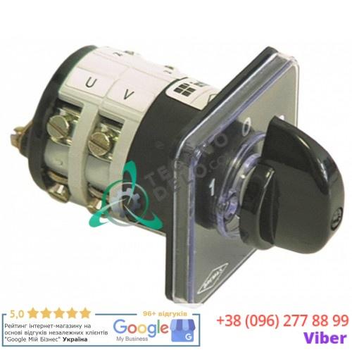 Переключатель Bremas A2000 1-0-2 20A ось 5x5мм 18201 для Gaggia, WEGA, Expobar и др.