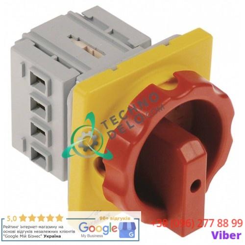 Выключатель Siemens 3LD2003-0TK53 0-1 690В 16А ось 6x6мм 74500530 для Moretti T75G, T97G