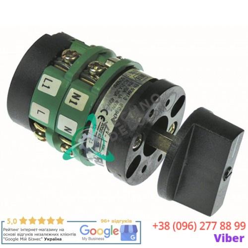 Выключатель Breter 0-1 400В 20А ось 5x5мм 32W2420 для оборудования Angelo-Po