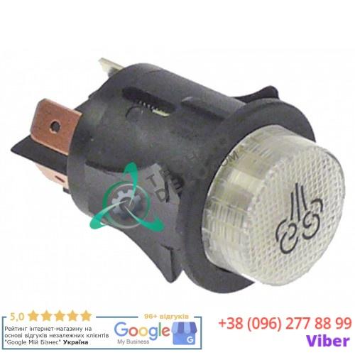 Выключатель ø25mm 250V 16A для печи Garbin (арт. PUL002 / PUL245)