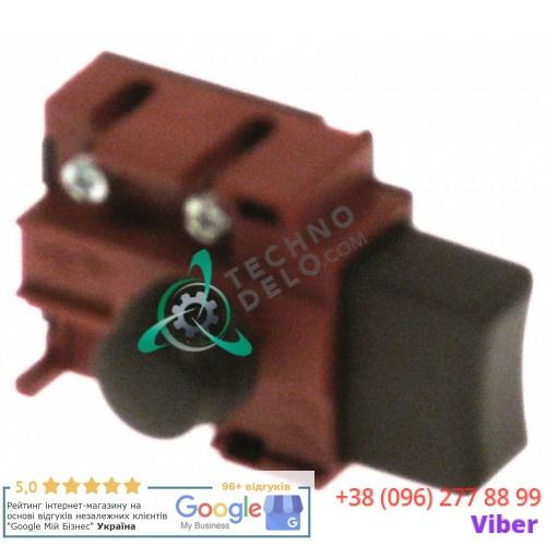 Выключатель кнопочный 250В 5А H-48мм LAA65331 / 0908 для миксера Dynamic FD98, FT86, FTP94, Junior, MD95 и др.