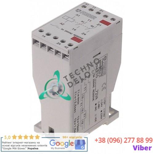 Реле времени Fiber T1 4 мин. / T2 10 секунд 5А 230VAC функция задающий такт 767344 / E320080 для ELOMA и др.