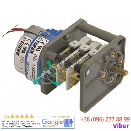 Таймер Fiber P395J03H301 120 секунд 230В ось 6x4,6x16мм 25384 для Hoonved CM43, K80F и др.