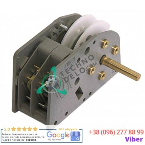 Таймер Fiber P2500C200BA 2 минуты 230В ось 6x4,6x18мм
