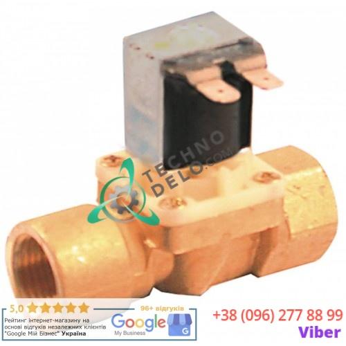 Клапан электромагнитный Elbi 230VAC 1/2 L78мм 5018106153 для Elframo, Ambach и др.