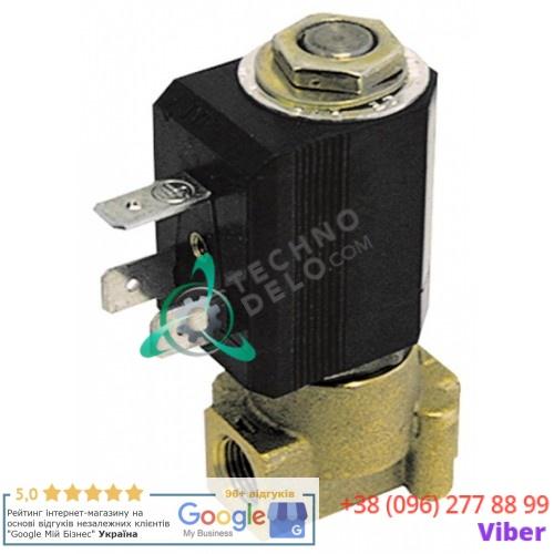 Клапан электромагнитный M&M B-297 2700 230VAC 1/8 L30мм 02269 для кофемашины Brasilia и др.