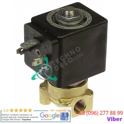 Клапан электромагнитный Parker 121Z резьба 1/8 катушка DZ02C2 24VDC (постоянный ток)