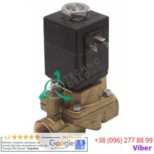 Клапан электромагнитный Burkert 0407 резьба 1/2 230VAC мембрана PTFE
