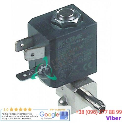 Клапан электромагнитный CEME 230V d6,5мм 7017 для печи Electrolux, Zanussi