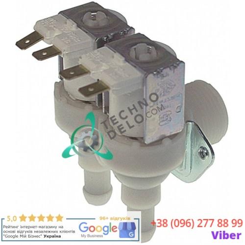 Клапан электромагнитный TP двойной 23157 N23157 льдогенератора Brema, Electrolux, NTF, Fagor и др.