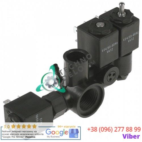 Блок-соленоид (3 катушки) 24V VA12 0900836 вакуумного упаковщика Henkelman B42 и др.