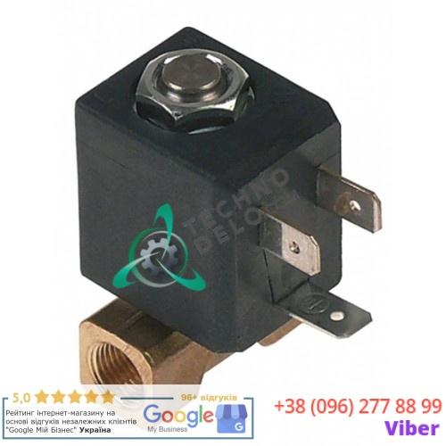 Клапан электромагнитный 24VAC 1/8 L31мм 0280021 вакуумного упаковщика Henkelman