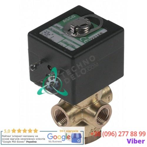 Клапан электромагнитный ASCO 24VAC 1/4 L43мм 0280052 для вакуумного упаковщика Henkelman