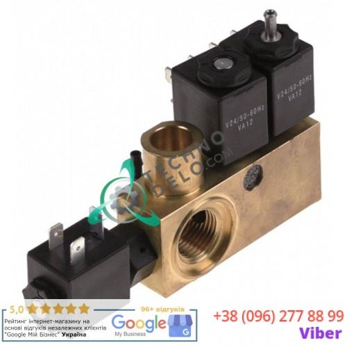 Блок-соленоид (3 катушки) VA12 24V 0280029 вакуумного упаковщика Henkelman H200, Cookmax и др.