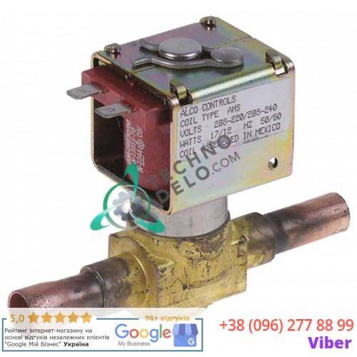 Клапан электромагнитный 200RB5T4 230В d12,7мм 1100049521 льдогенератора Icematic, Scotsman