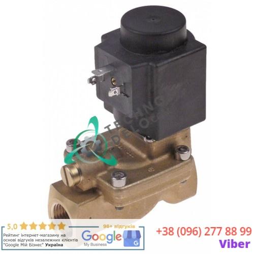 Клапан электромагнитный Danfoss EV220B 24VAC вход/выход 1/2 L-81мм для Nilma, Bodson C3PA/C63/C87/PA53 и др.
