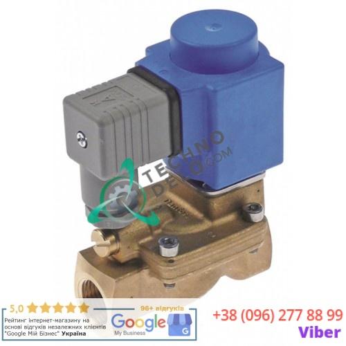 Клапан электромагнитный Danfoss EV220B BB024AS 24VAC вход/выход 1/2 IG L-81мм посудомоечной машины Aristarco