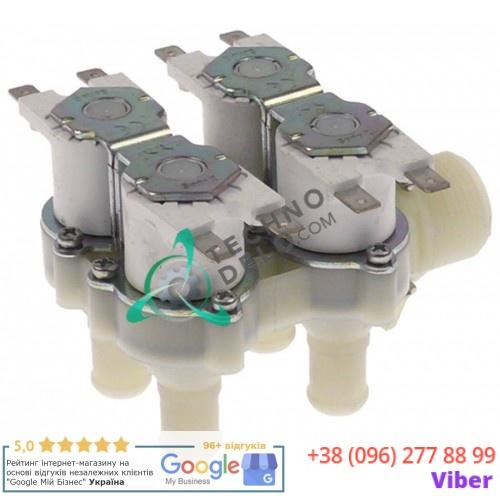 Клапан электромагнитный 4 выхода RPE 230VAC 3/4 d14мм для Grandimpianti и др.