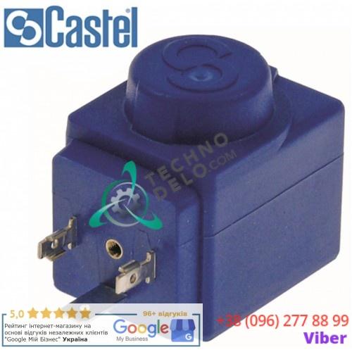 Катушка электромагнитная Castel HF2 110VAC 8VA 11,5мм 23256 BR00023256 для Brema, Fagor, NTF и др.