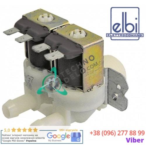 Клапан электромагнитный двойной Elbi d11.5мм 3/4 230VAC 0M2265 для Electrolux, Fagor, Mareno и др.