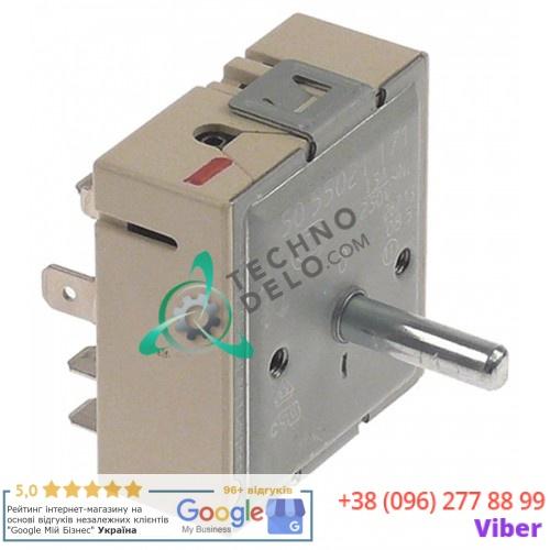 Энергорегулятор EGO 50.55021.171 230В 13А ось 6x4,6x23мм M4 профессиональной плиты Ambassade CE841VRT и др.