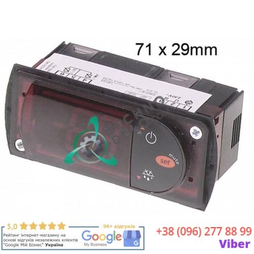 Контроллер CAREL PJEZSNH000K 71x29мм 230VAC датчик NTC R055PJEZSNH000K для холодильной камеры ZOIN и др.