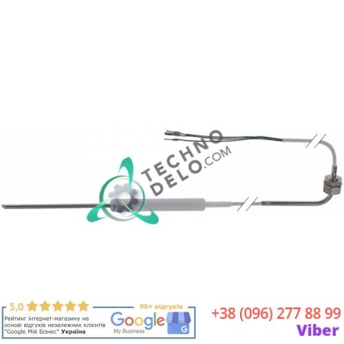 Термощуп K(NiCr-Ni) ø4x100мм кабель PTFE L-1.5м резьба 1/4 203697 для печи MKN CCE60, CCE63, CGE11-L и др.