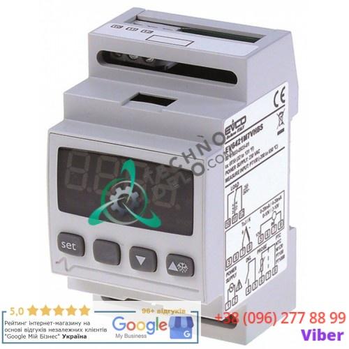 Контроллер EVCO EV6421 230VAC датчик NTC/PTC/Pt100/Pt1000/TC(J,K)/mВ/mA 1 реле IP44