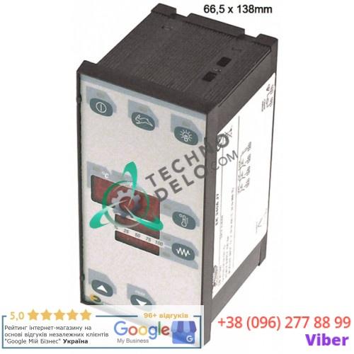 Контроллер EVCO EK340AJ7 66,5x138мм 230VAC датчик TC (J,K) 3 реле NO-8A(3) IP54 5310100 331008 для Pizza Group, Tornati Forni