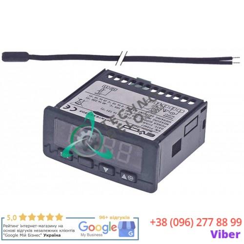 Контроллер EVCO 71x29мм 230VAC датчик NTC/PTC 1 реле 32V6050 холодильной камеры Angelo Po CX130, CX130NN, CX60 и др.