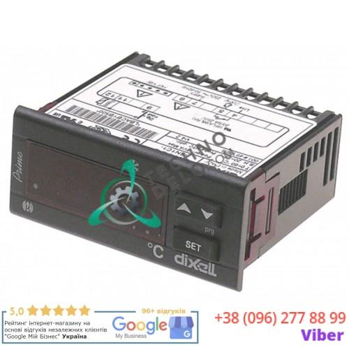 Контроллер Dixell XR20C-5N1C1 71x29 230VAC датчик NTC 10kOhm/PTC -50 до +150°C реле компрессора 20A