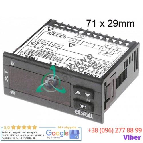 Контроллер Dixell XT110C-5C0TU 71x29мм 230VAC датчик NTC/PTC/Pt100/TC X0TBBBBCB500-S00 для Lincar и др.