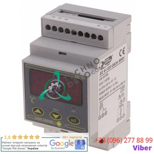 Контроллер EVCO EC6-133 24VAC датчик Pt100 диапазон измерений -50 до +600°C 40163057 для Nilma и др.