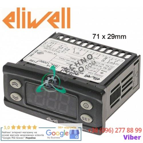 Контроллер Eliwell IDPlus 974 IDP2EDB700000 71x29мм 230VAC NTC/PTC/Pt1000 087161 12030168 для Fagor, Electrolux, Mareno и др.