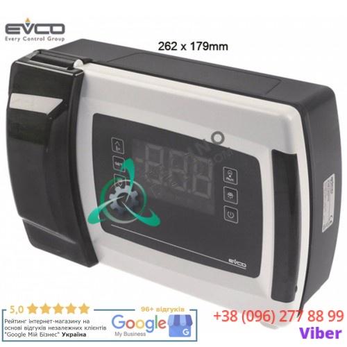 Контроллер EVCO EVB1206N9 RS485 262x179мм 230VAC датчик NTC/PTC/Pt1000 6 реле для холодильной камеры