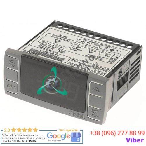 Контроллер Dixell XR06CX-5R0C1 71x29мм 230VAC датчик NTC IP54 W0302159 A00DJ100 для Desmon, Frenox, Tefcold, Yindu и др.