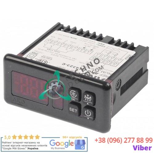 Контроллер AKO D14323-C 71x29мм 90-240VAC разъемы NTC/PTC/DI