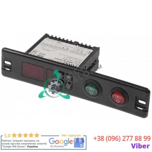 Контроллер AKO D10223 136x29мм 230VAC датчик NTC/PTC IP64