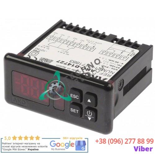Контроллер AKO D14727 71x29мм 12/24В датчик NTC/PTC/Pt100/TC(J,K)/мA IP65