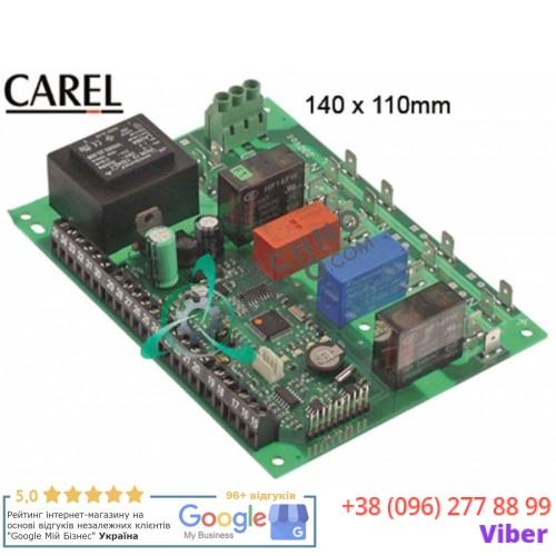 Регулятор электронный CAREL PSB0001000 145x110x30мм 230VAC датчик NTC 4 выхода реле 41103005 для Mercatus и др.