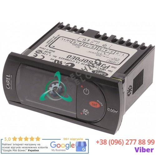 Контроллер CAREL PJEZS0P0E0 71x29x59мм 230VAC датчик NTC защита для профессионального холодильного оборудования